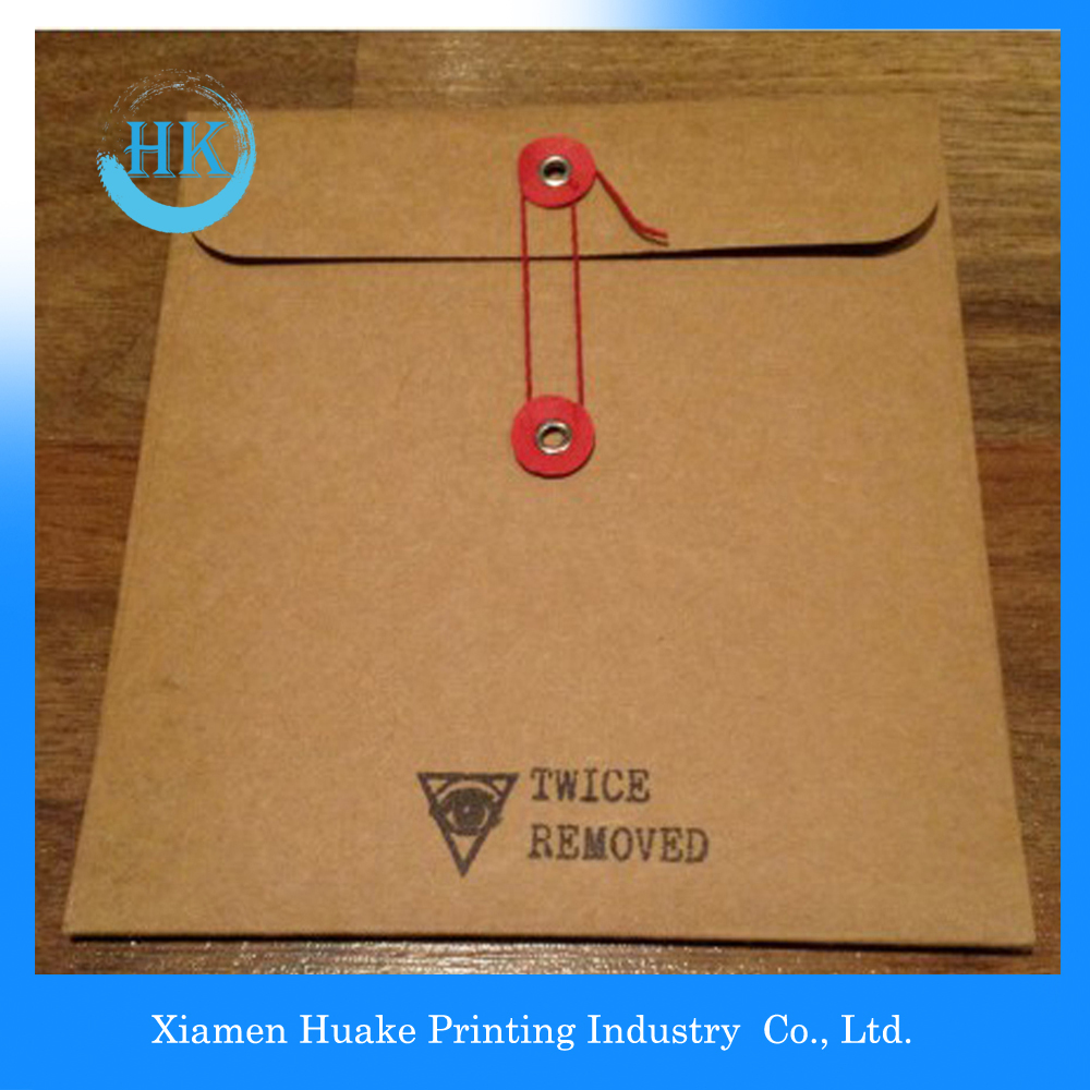 Kraft Paper Envelopes With String