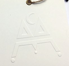 Square Luxury Paper Hang Tag