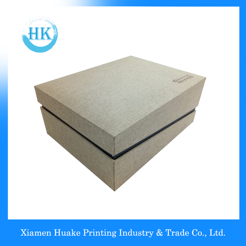 New Design Cloth Hardcover Box With Lids