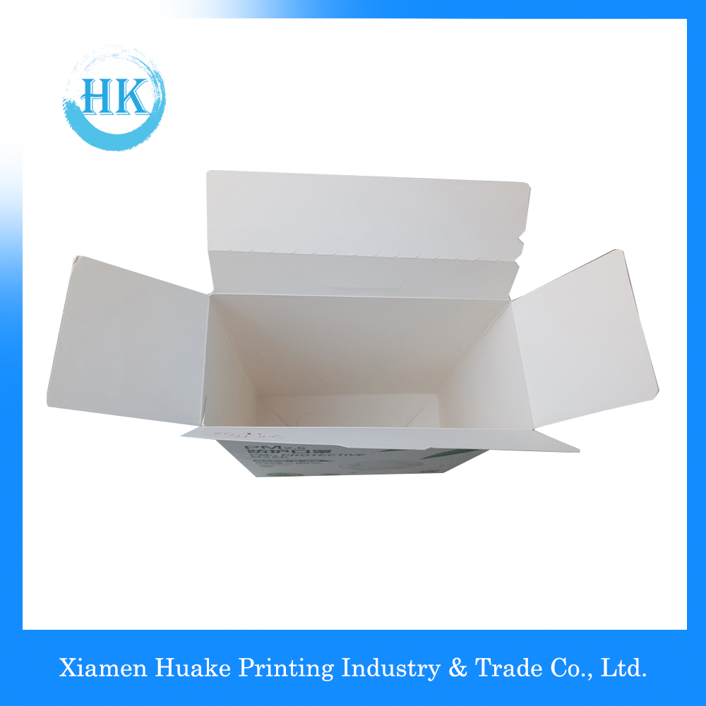 White Paper Box For Protective Mask