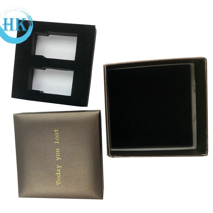 Hot Stamping Handmade Packaging Box for Gift