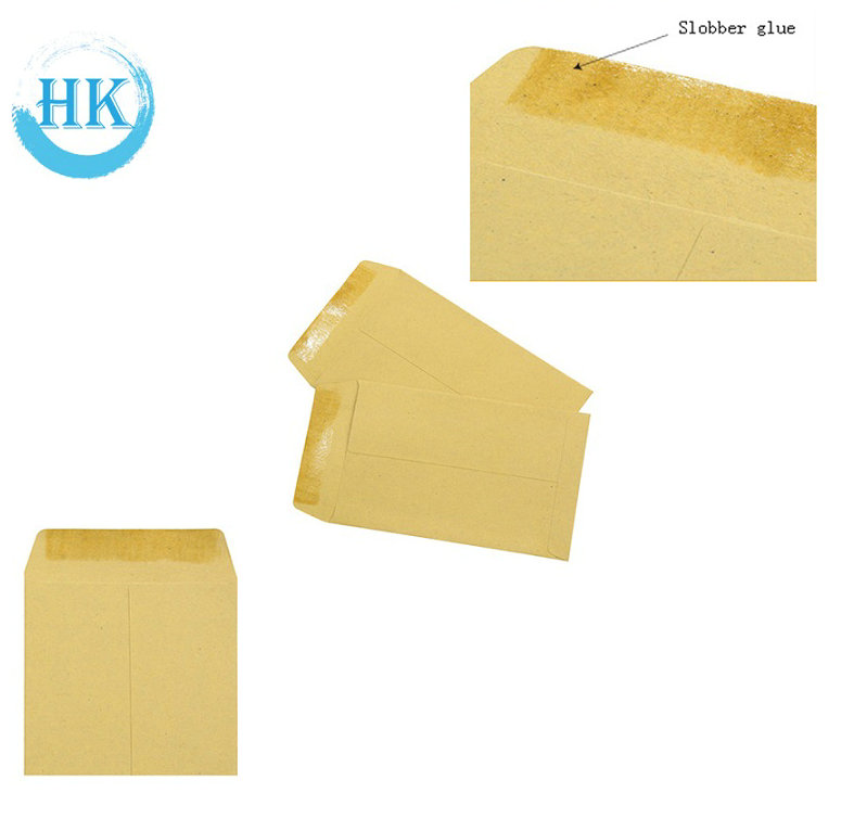 Lick Seal Kraft Paper Envelopes